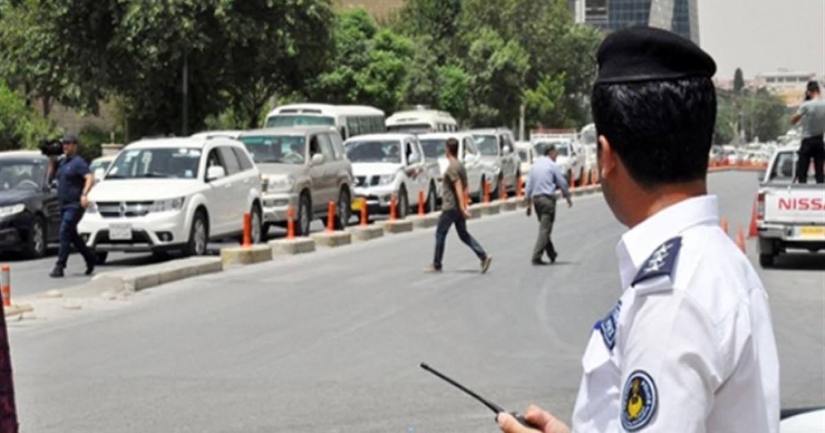 في حادث نادر.. مصرع امرأة دهستها سيارة شحن بساحة وسط اربيل