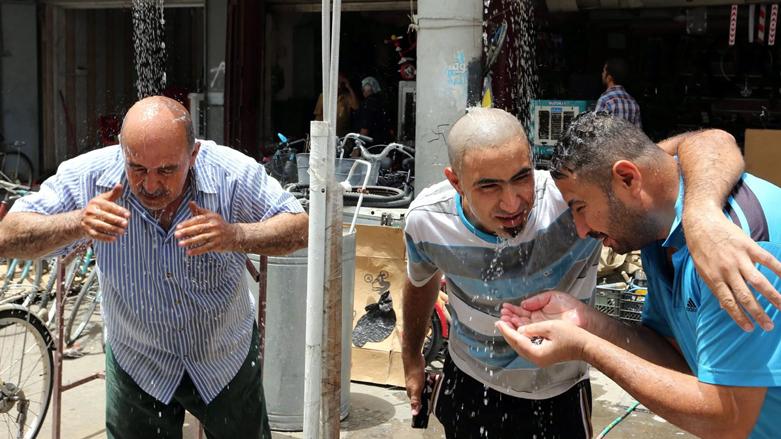 قبة حرارية شديدة تتطور فوق جنوب العراق