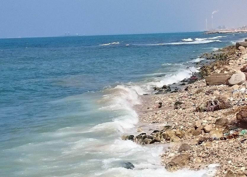 التقرير الأولي لتلوث الشواطىء بعد التسرب النفطي الذي تسبب به العدو الاسرائيلي