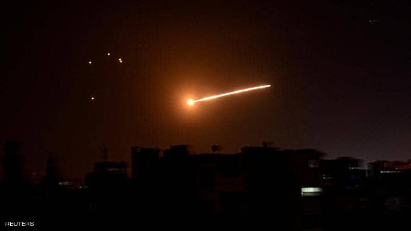 الدفاعات السورية تتصدى لعدوان