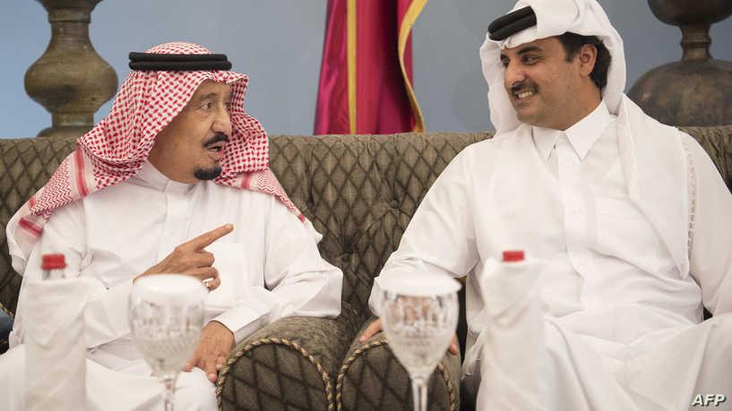 الأول منذ المصالحة.. أمير قطر يجري اتصالاً هاتفياً بملك السعودية
