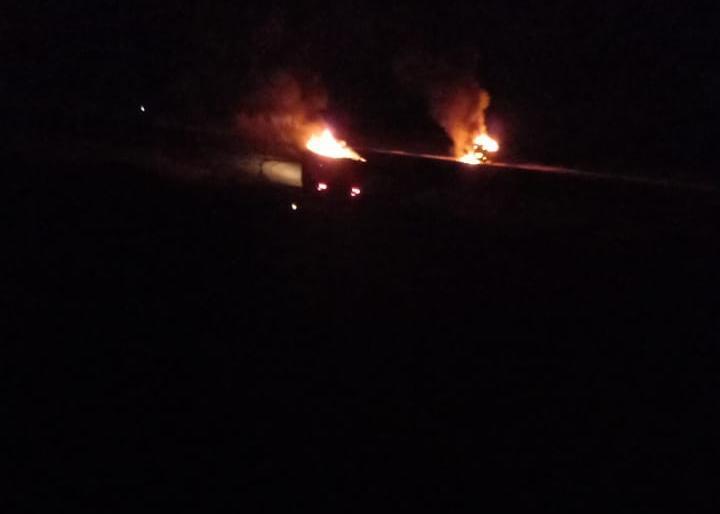 استهداف 3 عجلات للحشد بضربة جوية على الحدود العراقية السورية