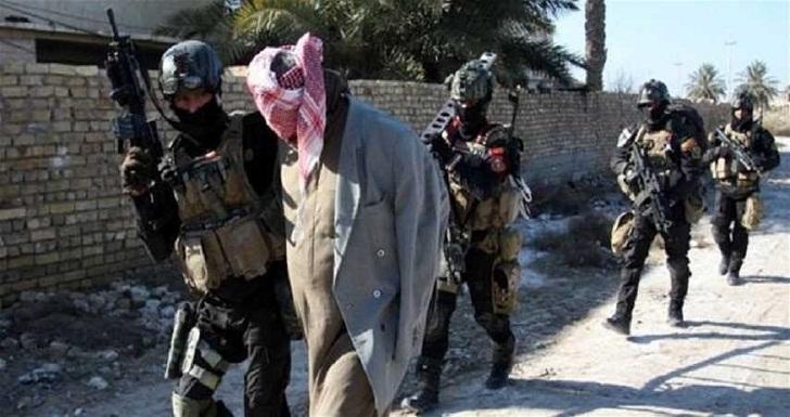 قوة من الحشد تلقي القبض على مطلوبين اثنين جنوب سامراء