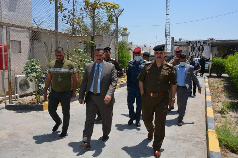 تكليف اللواء سلمان عبد الواحد  بمهام قيادة شرطة البصرة بالوكالة