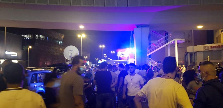 تجمع في جل الديب لازاحة الستارة عن لوحة 17 تشرين