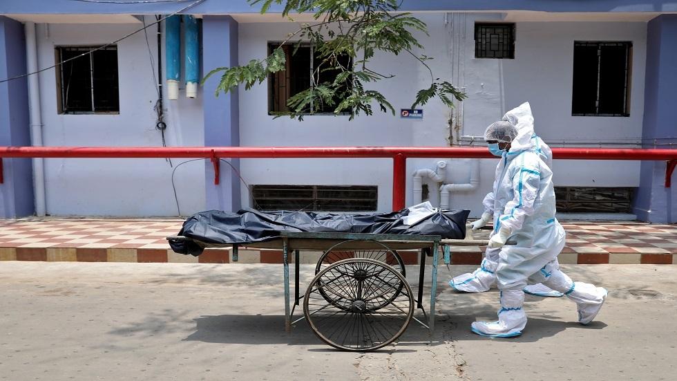 الهند.. رقم قياسي جديد لمعدل وفيات كورونا