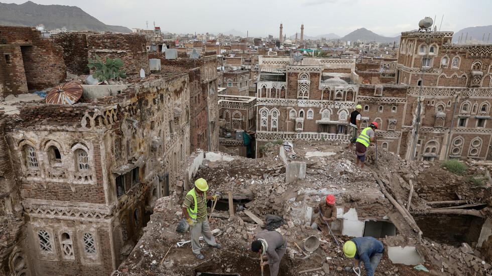 اليمن.. سيول جارفة تقتل 7 أشخاص بينهم نساء وأطفال