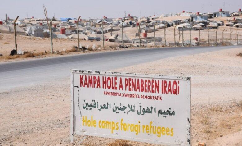 تحذير عراقي من ترك العراقيين في مخيم