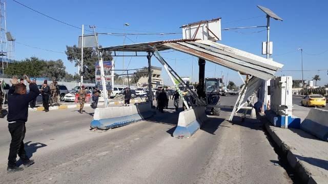 قيادة العمليات المشتركة توضح بشأن رفع السيطرات في بغداد