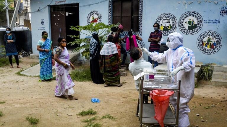 إصابات كورونا في الهند ترتفع إلى 6.84 مليون