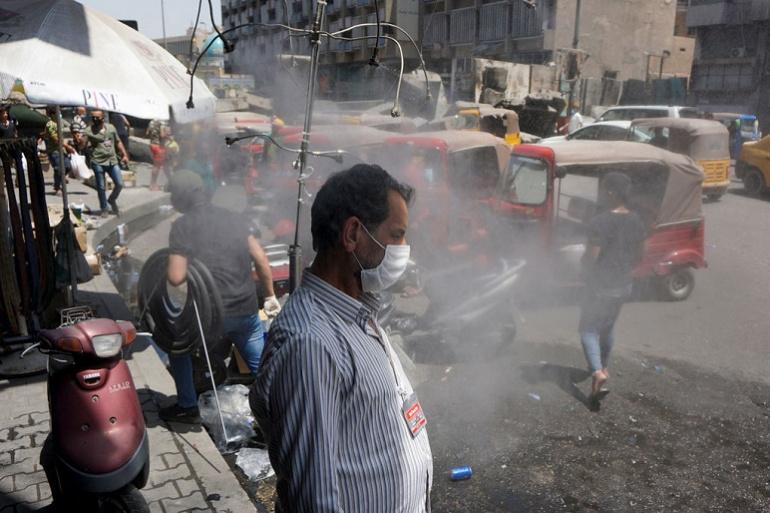 العراق يودع الأجواء اللاهبة في مناطق الوسط والشمال