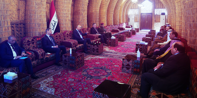 صالح : يجب عدم التهاون مع خلايا الارهاب