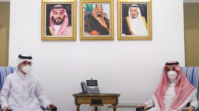 لقاء سعودي - قطري يبحث تعزيز العلاقات