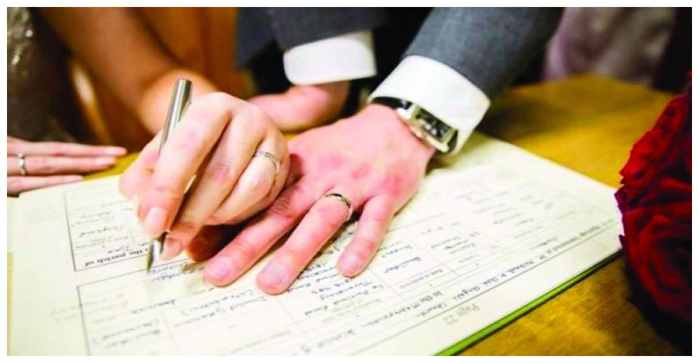 محكمة الاحوال في صلاح الدين تسجل حالة زواج بمهر قيمته