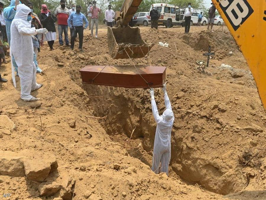 كورونا في الهند.. 50 ألف وفاة في أسبوعين