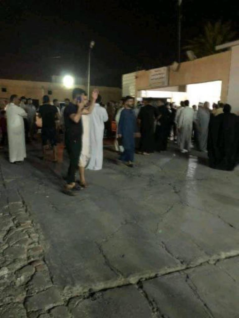 بيان رسمي بشأن الهجوم على مجلس العزاء في  صلاح الدين